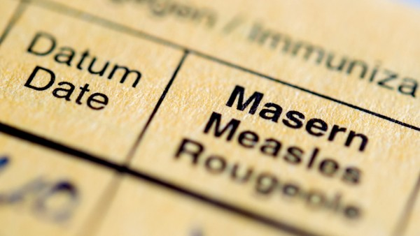 Masern-Impfung