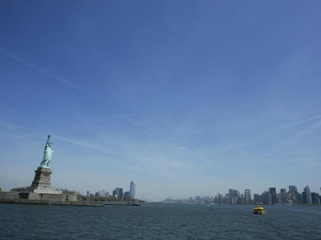 Das Innere der Freiheitsstatue in New York wird wieder für Besucher geöffnet,
