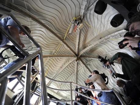 Das Innere der Freiheitsstatue in New York wird wieder für Besucher geöffnet, AFP