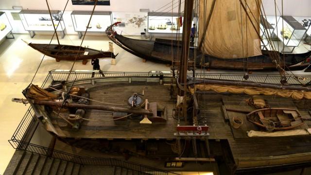 Renovierung: Eines der bekanntesten Exponate ist das Segelschiff Maria, mit dem einst in Hamburg-Finkenwerder Heringe gefangen wurden.