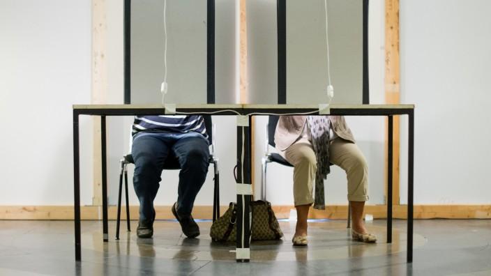 Wahlkabinen