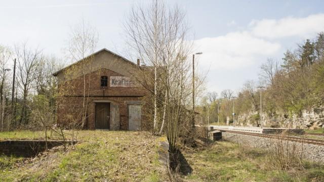 Bahnhof Kraftsdorf, Thüringen