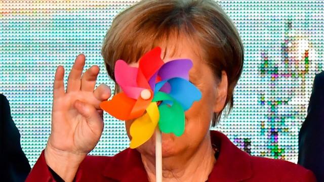 CDU: Bundeskanzlerin Angela Merkel