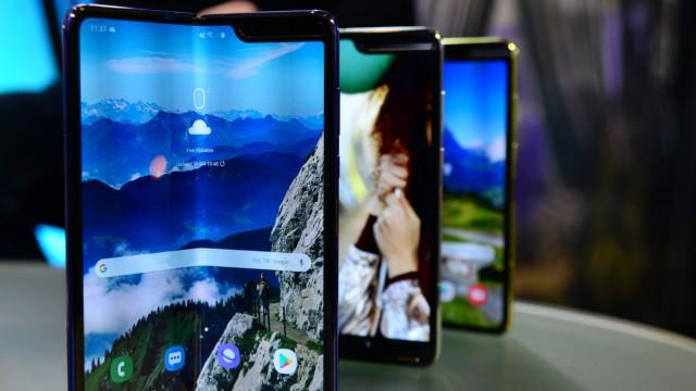 Knicken, aufklappen, weitermachen - Das kann Samsungs Galaxy Fold