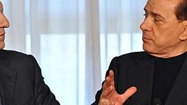 Barroso Silvio Berlusconi AFP