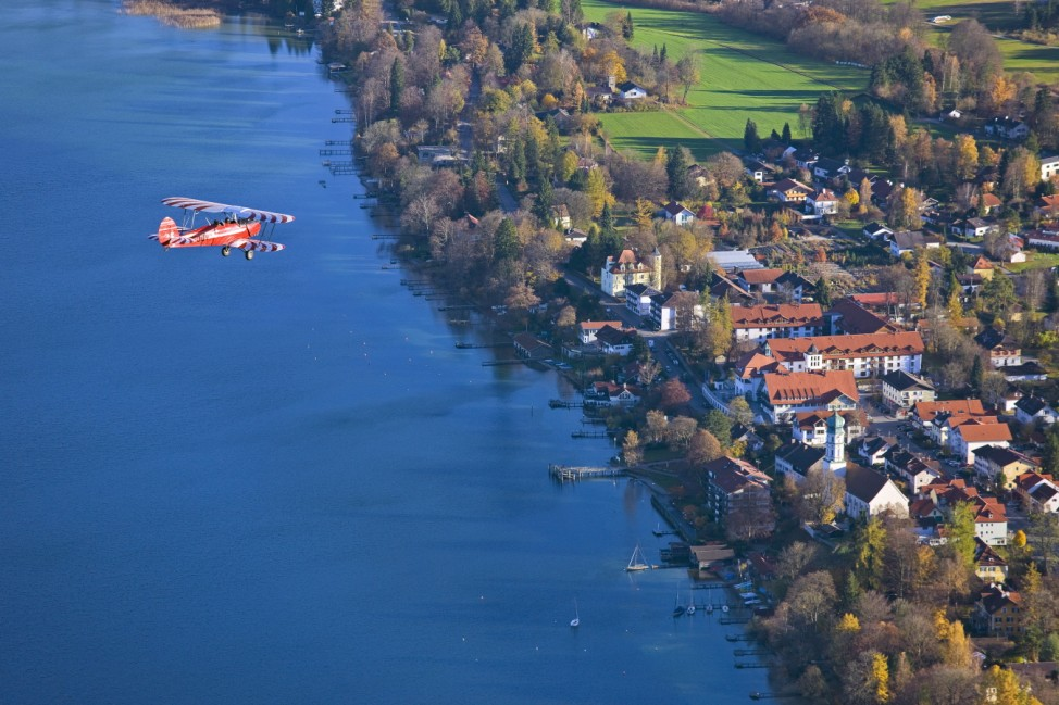 Seeshaupt Starnberger See Luftbild