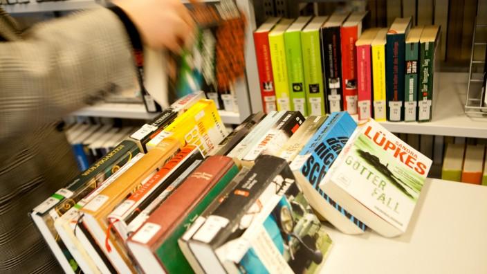 Stadtteilbibliothek Westend in München, 2014