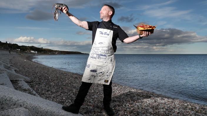 Der Schotte Calum Richardson aus Stonehaven ist für seine Fish and Chips mehrfach ausgezeichnet worden.