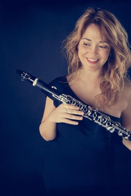 Klarinettistin Laura Ruiz Ferreres (Spanien)