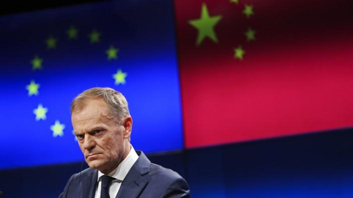 EU-China-Gipfeltreffen in Brüssel