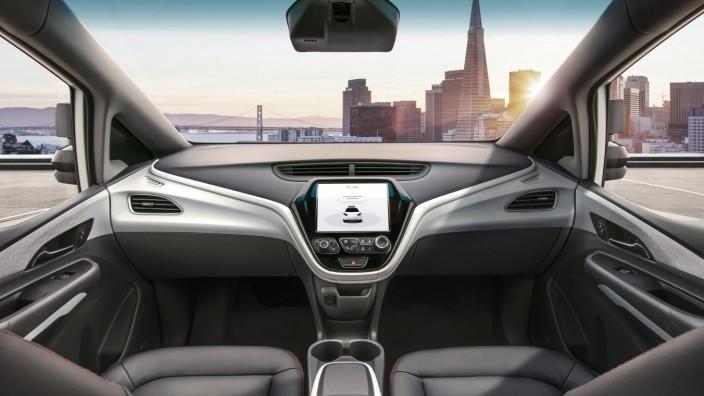 Selbstfahrendes Auto von GM