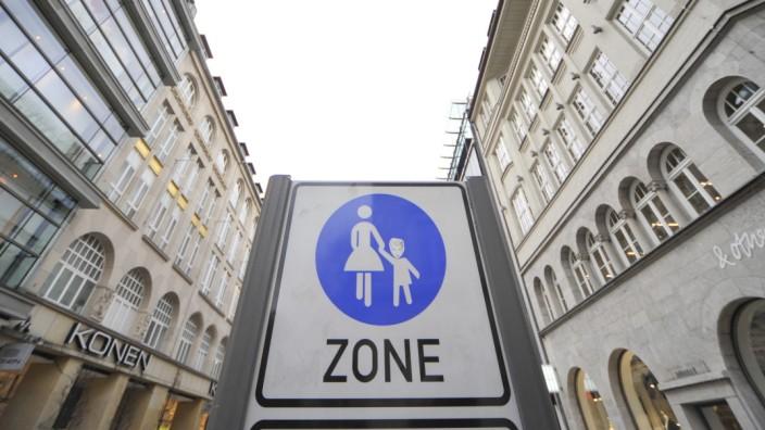 Sendlinger Straße in München, 2017