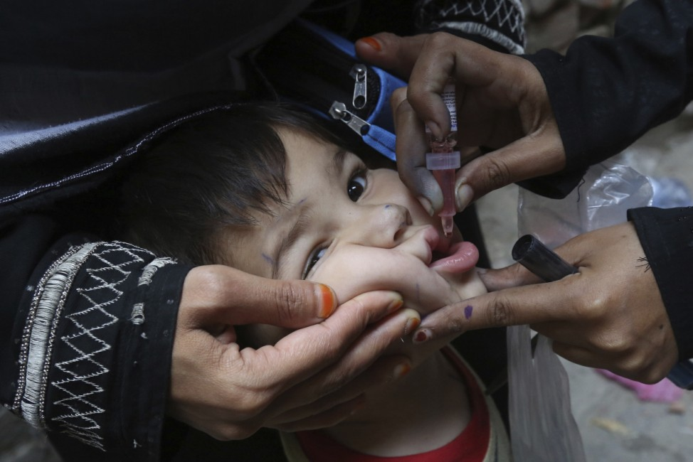 Polio-Impfung in Pakistan