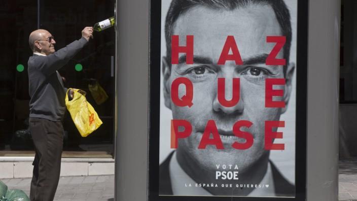Wahl in Spanien, Pedro Sánchez