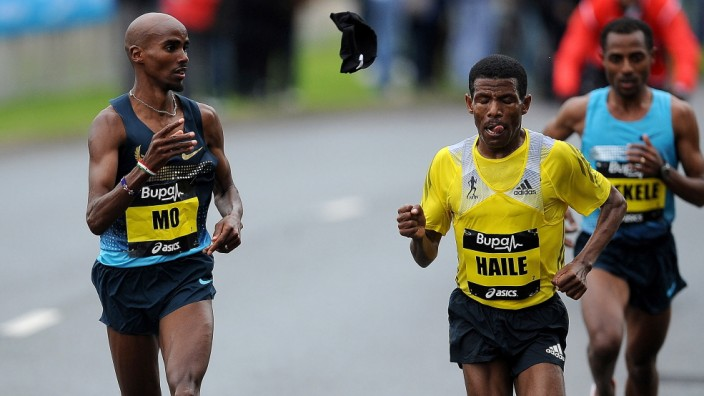 The Great North Run; Gebrselassie Farah