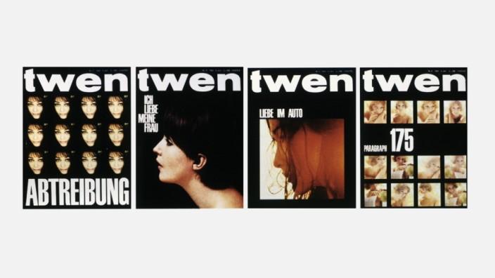 """Zeitschrift """"Twen"""": Ja, die Zeitschrift konnte auch politisch sein, etwa wenn es um das Sexualstrafrecht und um das Thema Abtreibung ging."""