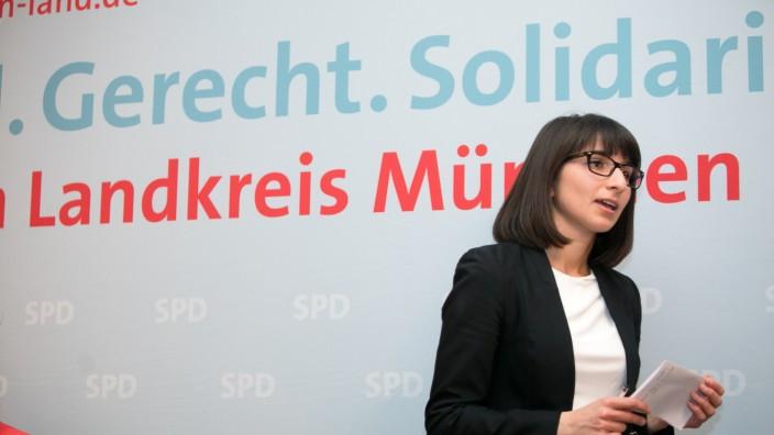 Hofbräuhaus SPD, Wahlkampfauftakt der SPD-Bundestagskandidatin von München-Land, Bela Bach aus Planegg