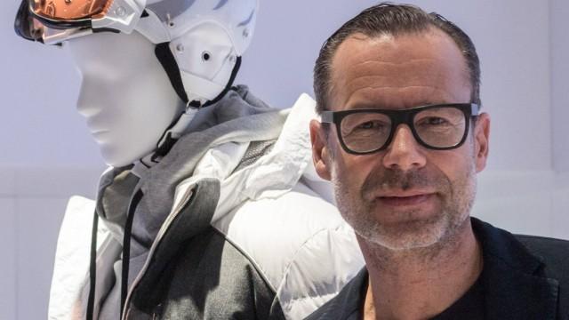 ISPO Die ISPO 2018 in den Messehallen München Der Stand der Firma Bogner Andreas Baumgärtner neuer