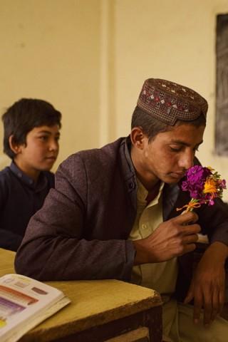 Schule in Afghanistan.