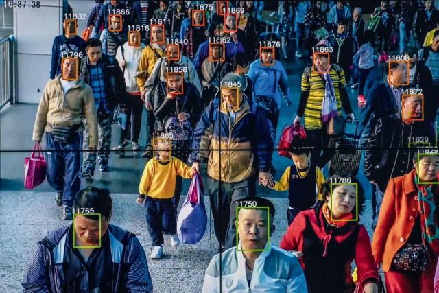 Gesichtserkennung in China