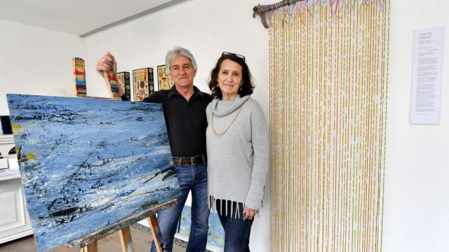 Andechs Erling, Galerie am Berg, Ausstellung