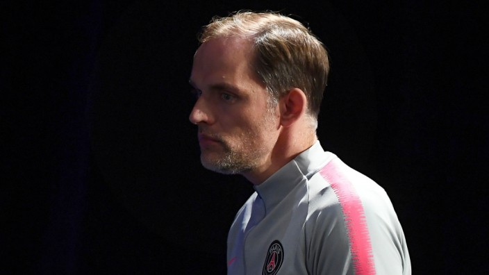 PSG-Trainer Thomas Tuchel 2019 in Paris