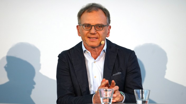 Armin Wolf in München, 2018