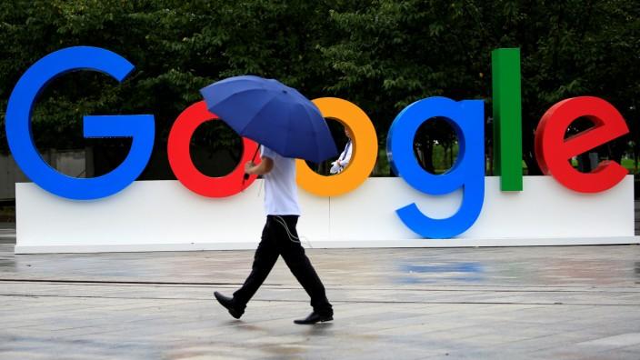 Google-Logo in Shanghai