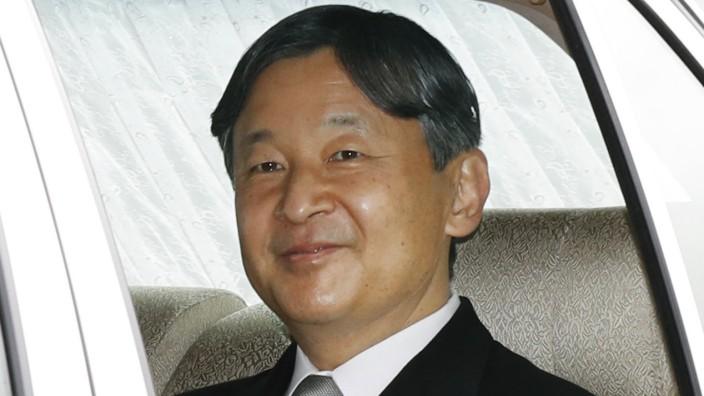 Abdankung von Kaiser Akihito