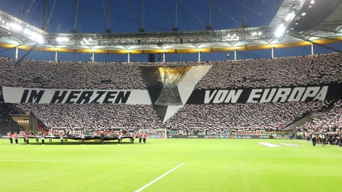 Deutschland Frankfurt am Main Commerzbank Arena 18 04 2019 Fussball Uefa Europa League Eint