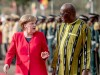 Kanzlerin Angela Merkel in Afrika