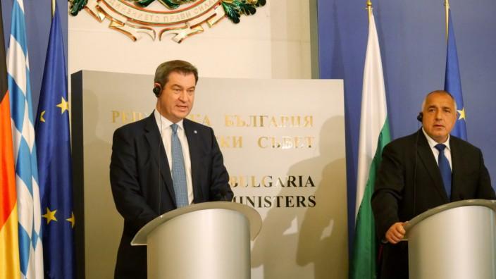 Söder in Bulgarien und Kroatien