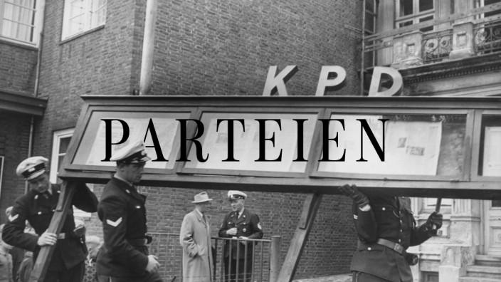 Verbot der KPD, 1956