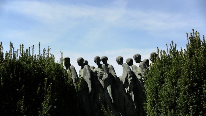 Todesmarsch-Denkmal in Gräfelfing, 2016