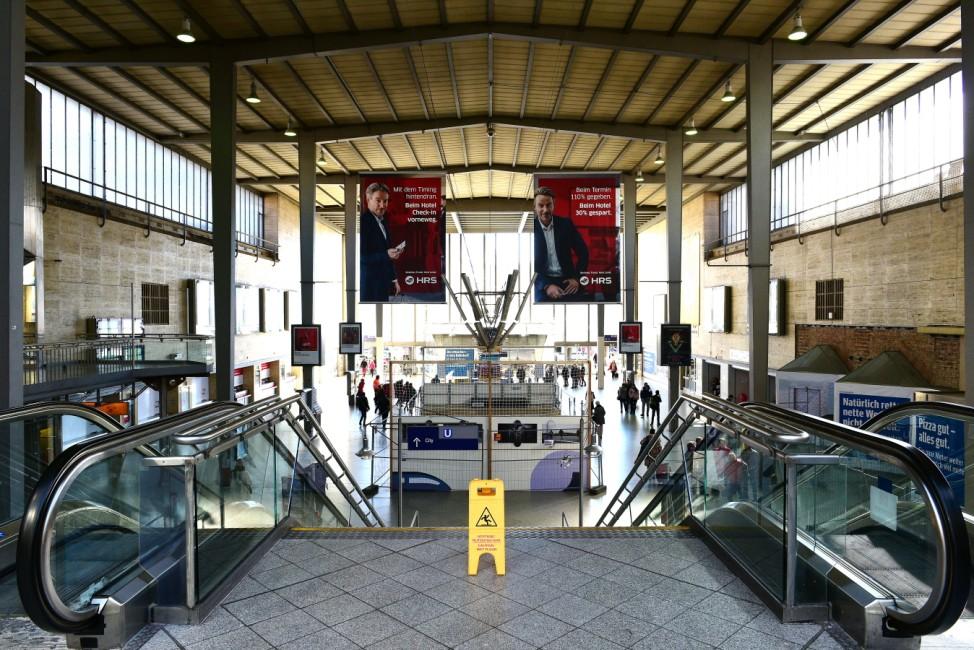 Hauptbahnhof in München vor Umbauarbeiten, 2019