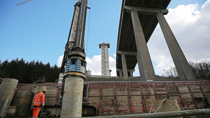 Sanierung Talbrücke Rinsdorf
