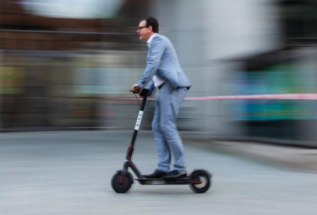 Hamburg bereitet sich auf E-Scooter vor