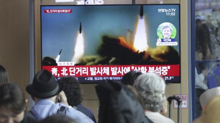 Nordkorea Raketentest Seoul