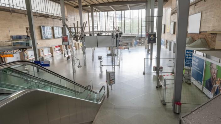 Beginn Abriss Schalterhalle Hauptbahnhof München
