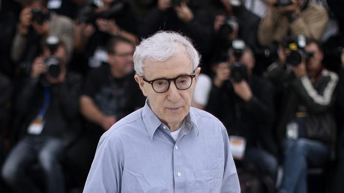 """""""A Rainy Day in New York"""": Der Regisseur Woody Allen während eines Fototermins in Cannes 2016."""