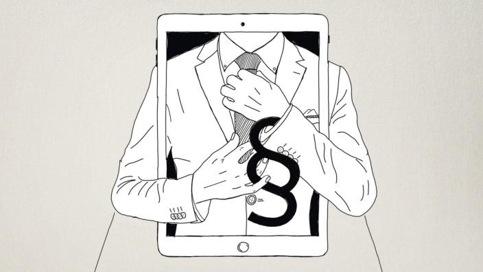 Digitalisierung Anwalt