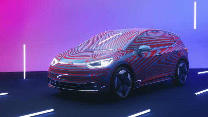 Premiere des VW ID.3: Offizielle Premiere soll der VW ID.3 auf der IAA im September in Frankfurt feiern.