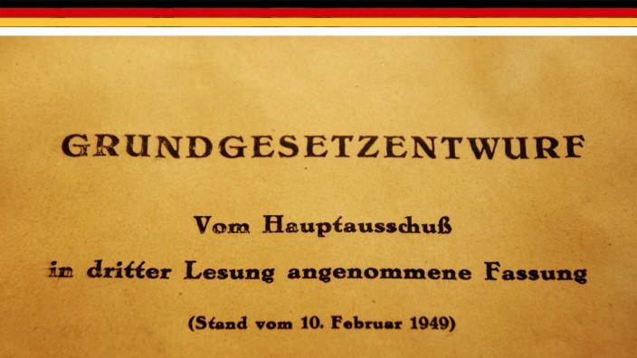 Grundgesetz im Haus der Geschichte in Bonn