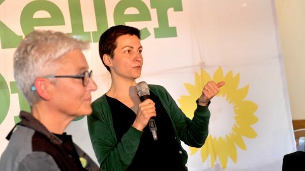 Krailling: Europawahlveranstaltung der Grünen mit Ska Keller und Neubauer