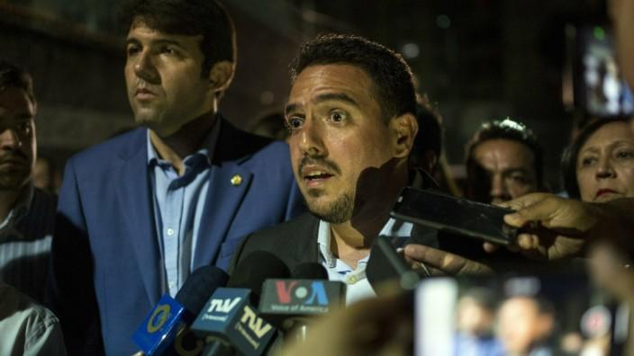 Venezuela: Guaido-Stellvertreter festgenommen