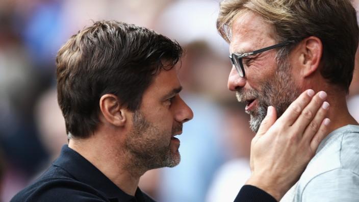 Tottenham Hotspur v Liverpool - Premier League; Mauricio Pochettino Klopp