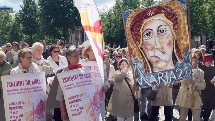 Kirchenstreik Maria 2.0 in Münster