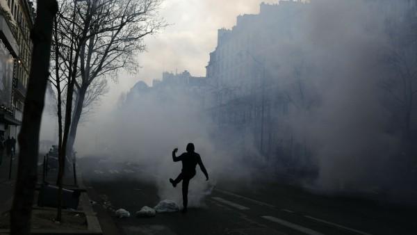 'Gelbwesten'-Proteste in Frankreich