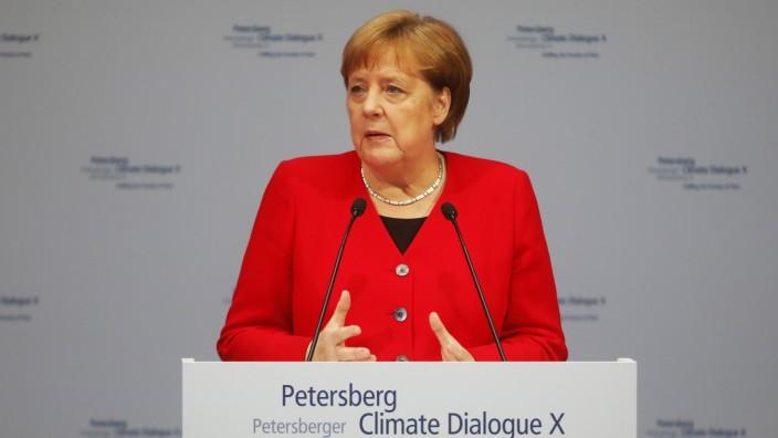 Merkel CO2 Klimaneutralität