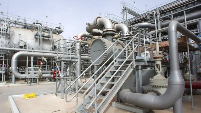 Iran: Ölförderanlage im saudischen Haradh (Archivbild)
